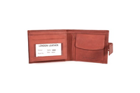 Orange London Leather Wallet