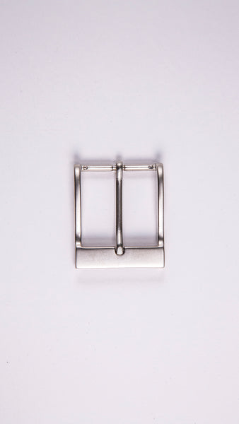 "Satin Rectangular 1.5"" Buckle - Worldbelts Ltd"