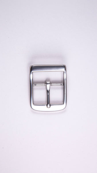 "Satin Double Sided 1.5"" Buckle - Worldbelts Ltd"