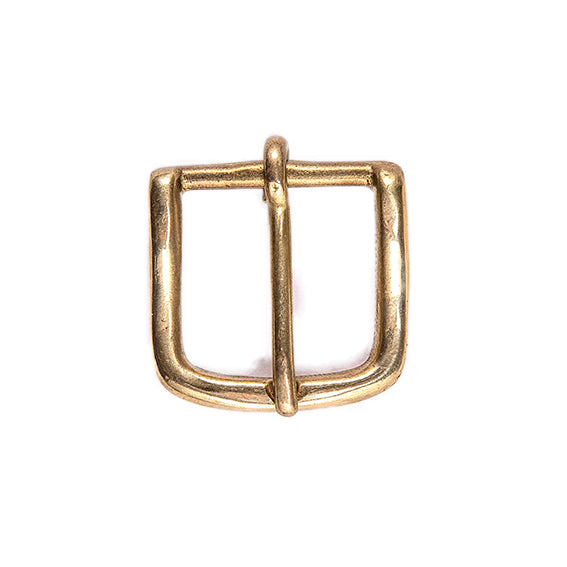 "Brass 1.1"" Buckle - Worldbelts Ltd"
