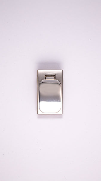 "Solid Chrome 1.1"" Clamp Buckle - Worldbelts Ltd"