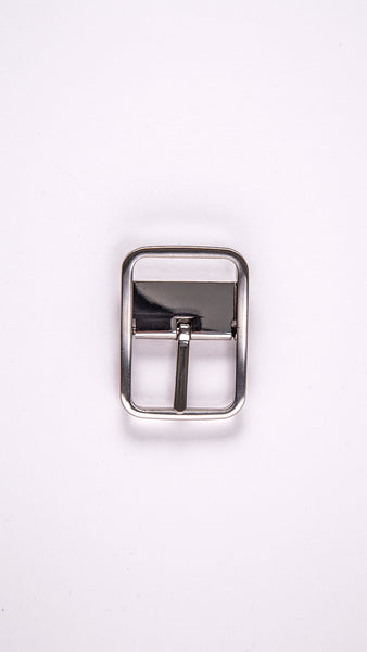 "Double Sided Chrome 1.3"" Clamp Buckle"