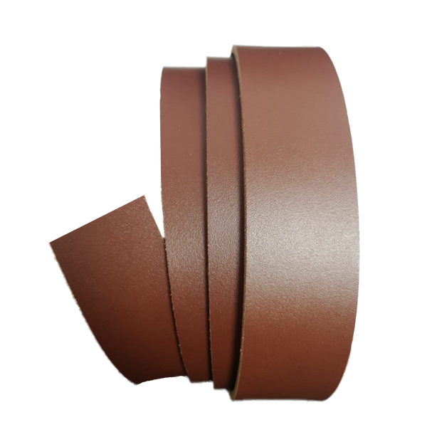 Medium Brown Leather Clamp Strap - Worldbelts Ltd