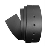 Black Leather Clamp Strap - Worldbelts Ltd