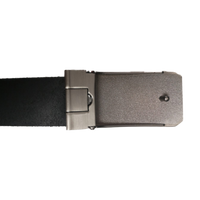 Grey Leather Clamp Strap - Worldbelts Ltd