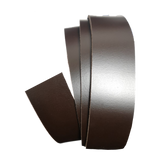 Dark Brown Leather Clamp Strap - Worldbelts Ltd