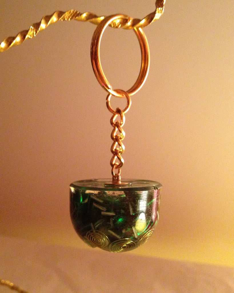 Heaven On Earth Orgone keyring