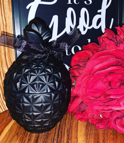 Luxury Black Pineapple Vessels Hand Poured Soy Candles
