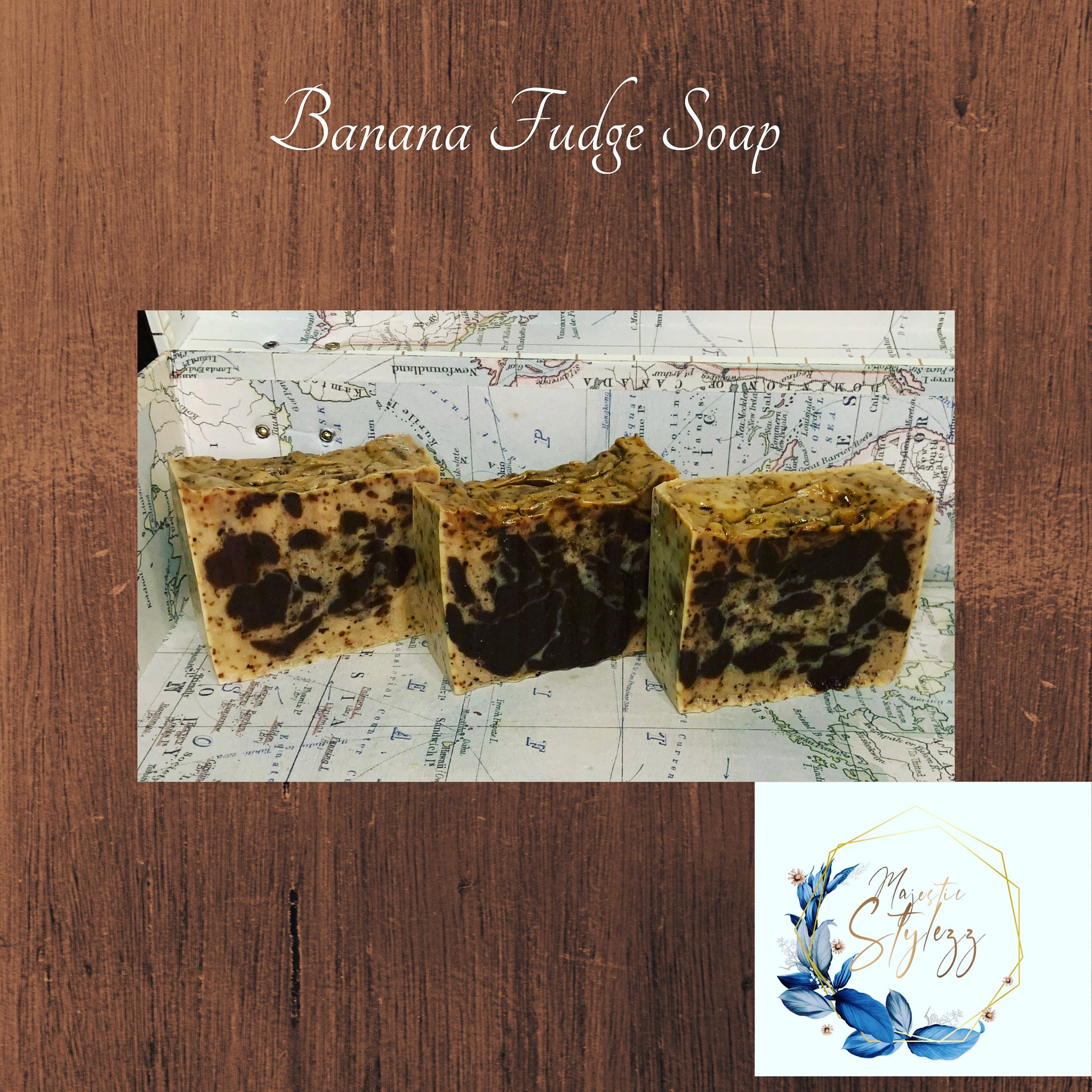 Banana Fudge Bar Soap
