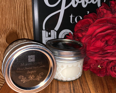 Hand Poured Soy Candles 4 oz ~ Various Options
