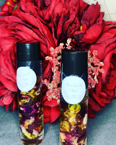 Handcrafted Rose Lip Oils