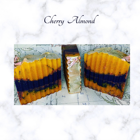 Natural Soap Bar - Cherry Almond