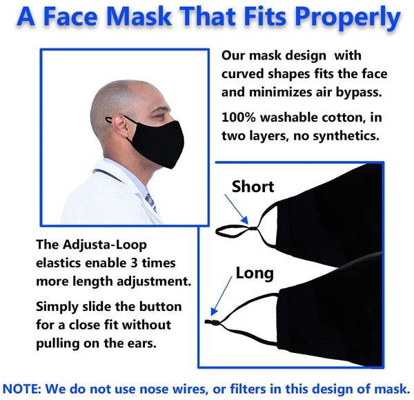 Canadian Designer Cloth Face Mask, Washable, Reusable, Multilayer Cotton 3D Shape Lightweight Fabric Adjustable. Made in Canada. Size: Youth or Small Adult – Light Yellow