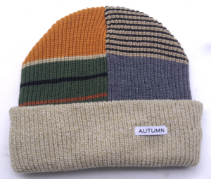SELECT PATCHWORK BEANIE