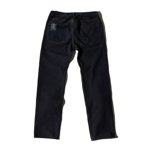 Black Reversible Denim Jeans