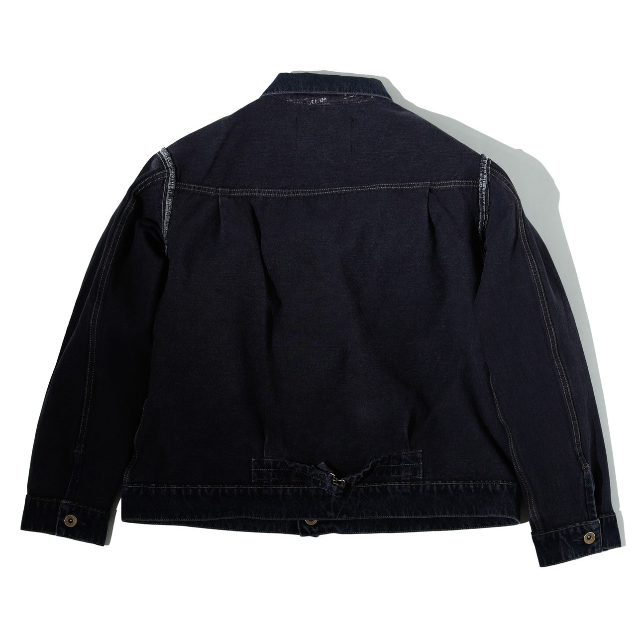Black Reversible Denim Jacket