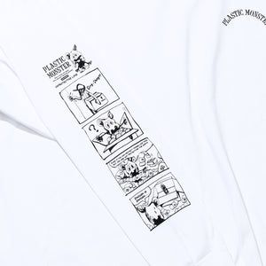 PLASTIC MONSTER Long T-Shirt B