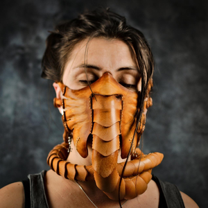 Facehugger Leather Face Costumes & Kit