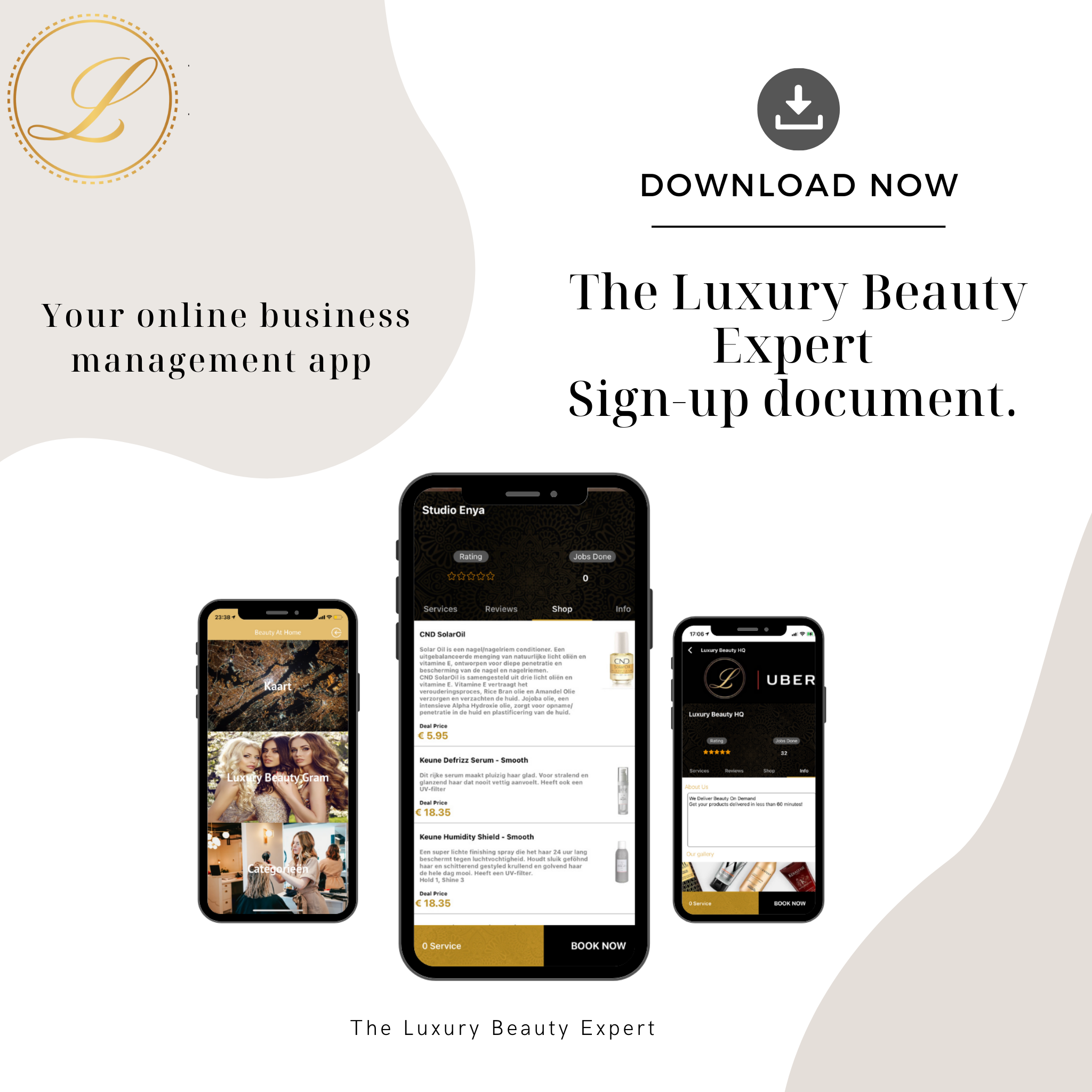 salon management system at your phone