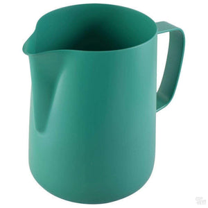 0.6 Litre Teflon Foaming Jug - Green-Coffee Brewing-Coff-Hey!-Coff-Hey!