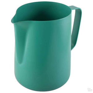 1 Litre Teflon Foaming Jug - Green-Coffee Brewing-Coff-Hey!-Coff-Hey!