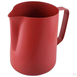 1 Litre Teflon Foaming Jug - Red-Coffee Brewing-Coff-Hey!-Coff-Hey!