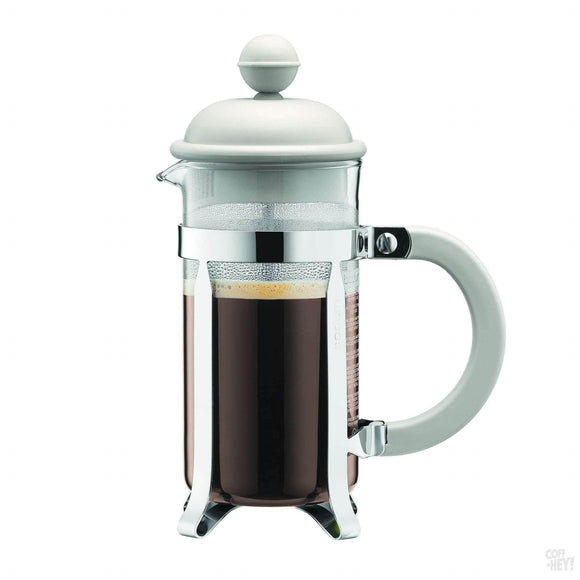 Bodum Caffettiera Coffee Maker, 3 Cup, 0.35 L, 12 oz - Off White-Coffee Brewing-Bodum-Coff-Hey!