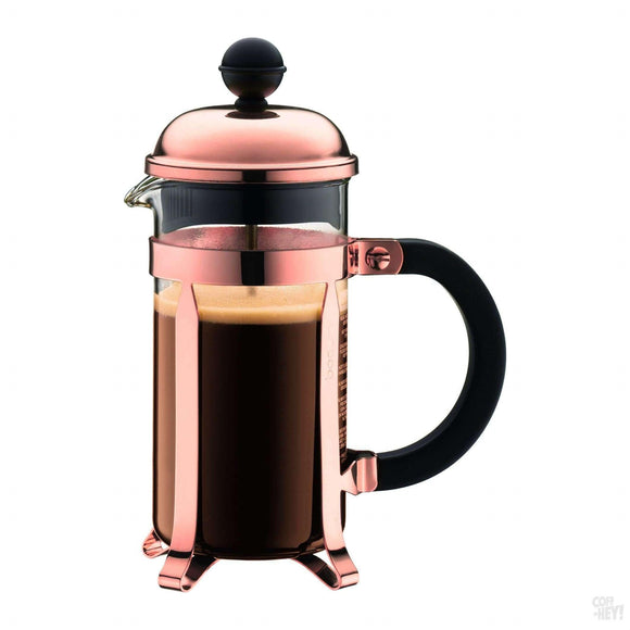 Bodum Chambord Coffee Maker 3 Cup 0.35L/12oz - Glass, Copper Lid-Coffee Brewing-Bodum-Coff-Hey!