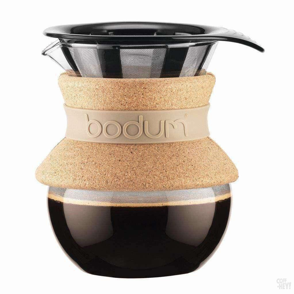 Bodum Pour Over Coffee Maker With Permanent Filter, 0.5 L, 17 oz-Coffee Brewing-Bodum-Coff-Hey!