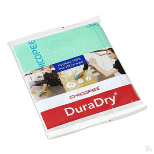 Chicopee Duradry Microfibre Cloth - Green (Pack Of 5)-Coffee Brewing-Chicopee-Coff-Hey!
