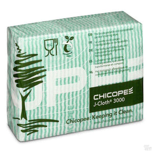 Chicopee J-Cloth 3000 - Folded Green (Pack Of 50)-Coffee Brewing-Chicopee-Coff-Hey!