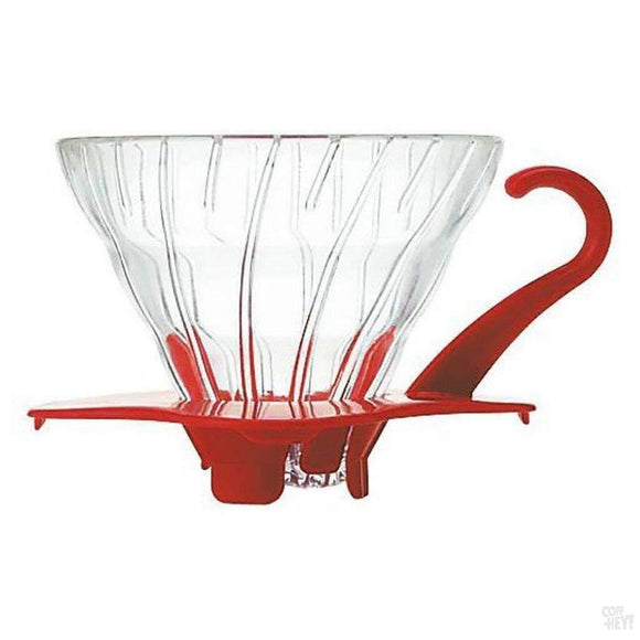 Hario Glass Coffee Dripper V60 01 Red-Coffee Brewing-Hario-Coff-Hey!