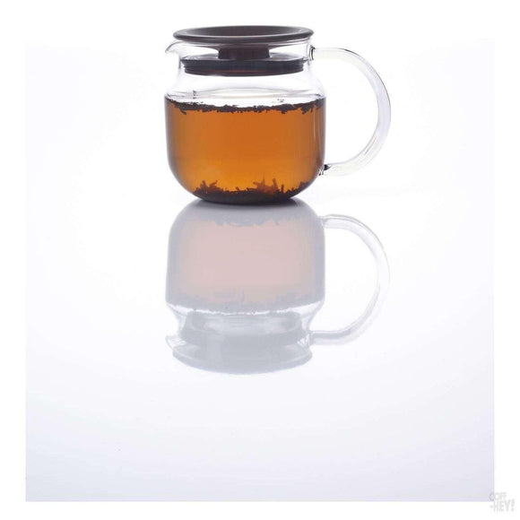 Kinto One Touch Teapot 620ml Black Lid-Tea Brewing-Kinto-Coff-Hey!