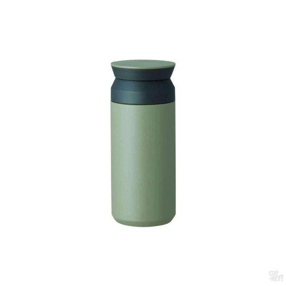 Kinto Travel Tumbler 350ml Khaki-Drinkware-Kinto-Coff-Hey!
