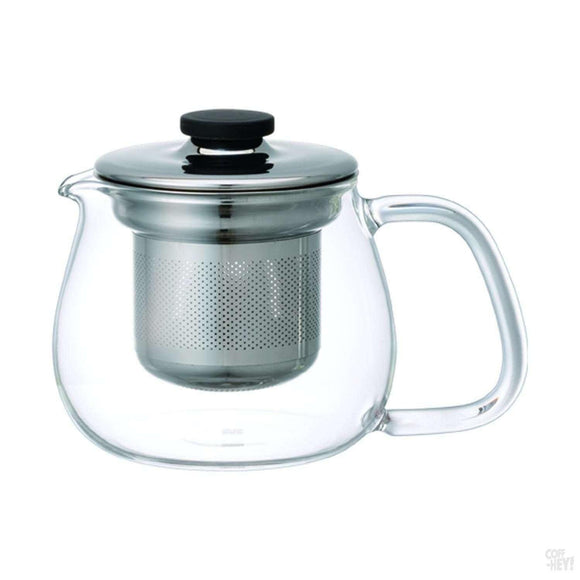 Kinto Unitea Teapot Set Small Stainless Steel-Tea Brewing-Kinto-Coff-Hey!