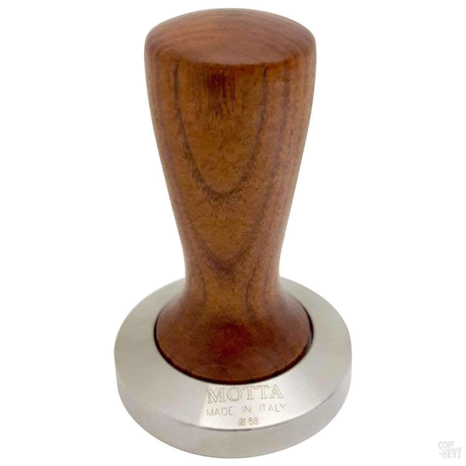 Motta Tamper Slim Base 58mm Wood Handle-Espresso/Barista-Motta-Coff-Hey!