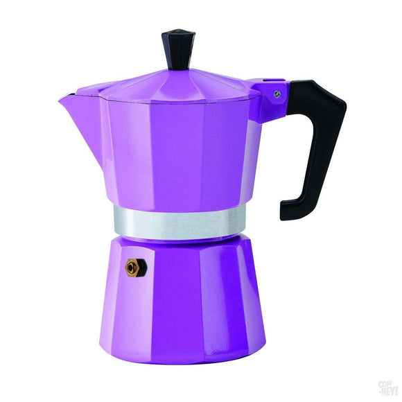 Pezzetti Italexpress Aluminium Moka Pot - 6 Cup Purple-Coffee Brewing-Pezzetti-Coff-Hey!