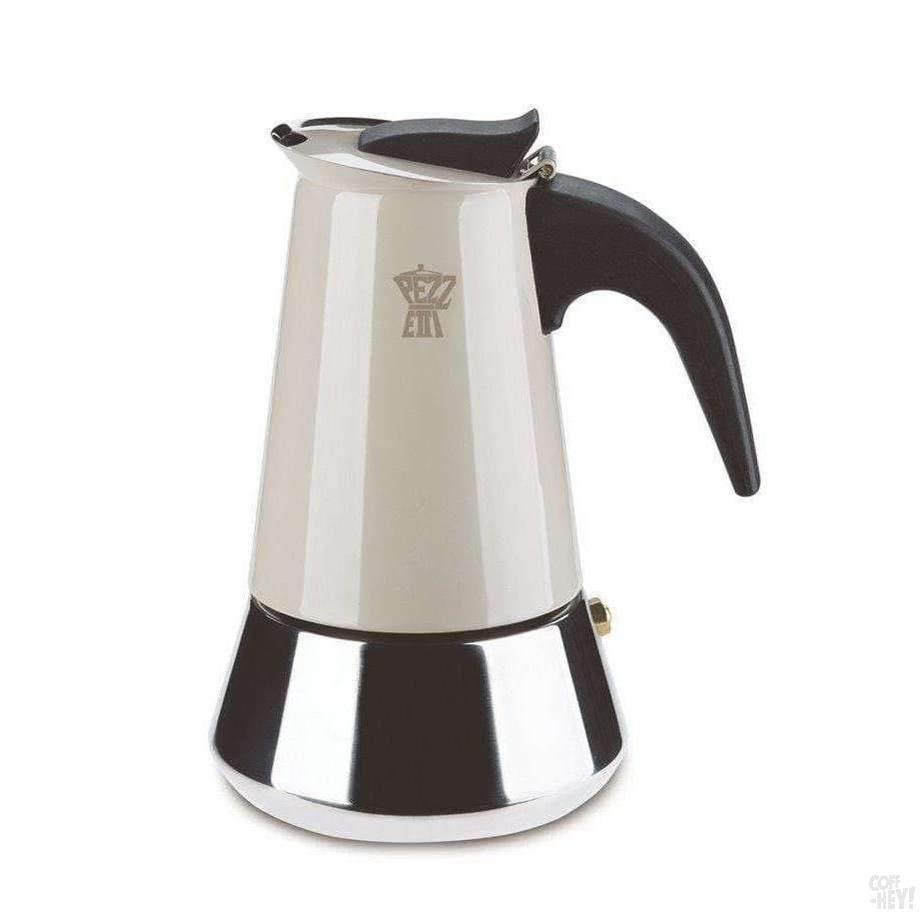 Pezzetti Steelexpress Moka Pot - 2 Cup Dove Grey-Coffee Brewing-Pezzetti-Coff-Hey!