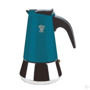 Pezzetti Steelexpress Moka Pot - 2 Cup Teal Blue-Coffee Brewing-Pezzetti-Coff-Hey!