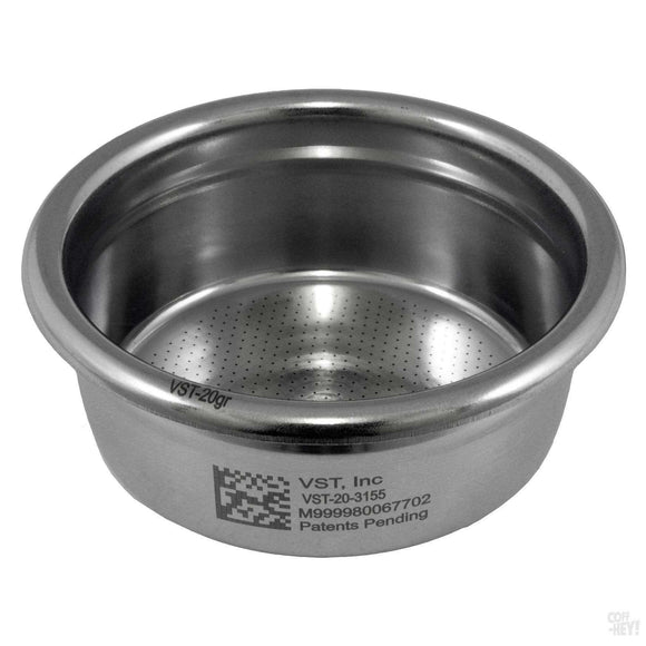 VST Precision Filter Basket Ridged 20 Gram-Coffee Brewing-VST-Coff-Hey!