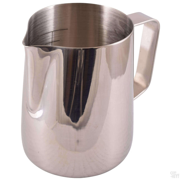 Yagua 12oz / 350ml Milk Pitcher with Volume Measures-Coffee Brewing-Yagua-Coff-Hey!