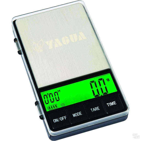 Yagua Espresso Scales With Manual Brew Timer 1kg X 0.1g-Coffee Brewing-Yagua-Coff-Hey!