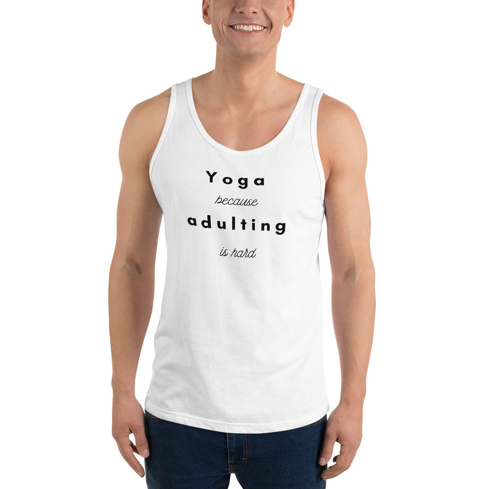 Yoga because Tank Top
