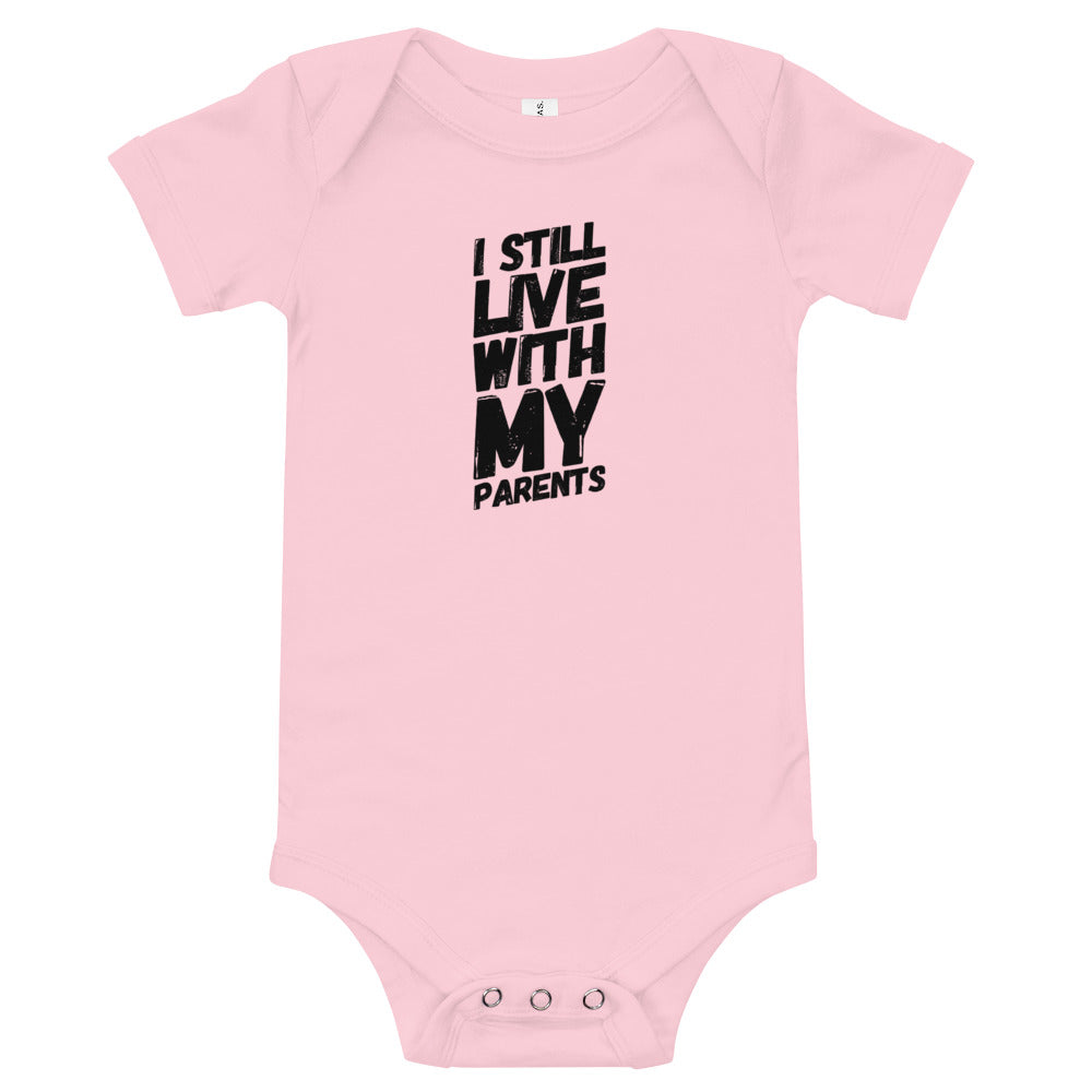 Living with Parents Babysuit