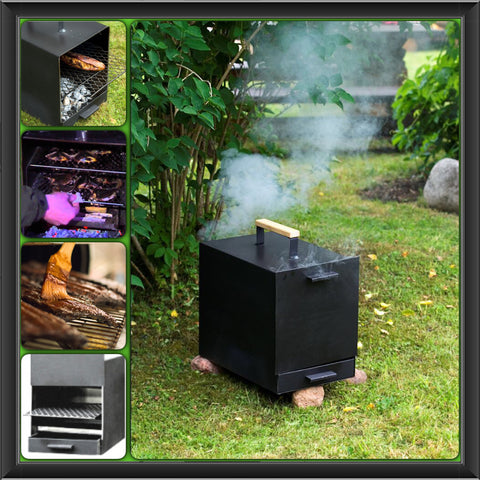 ABAS Smoke House Portable 45 litre smoker