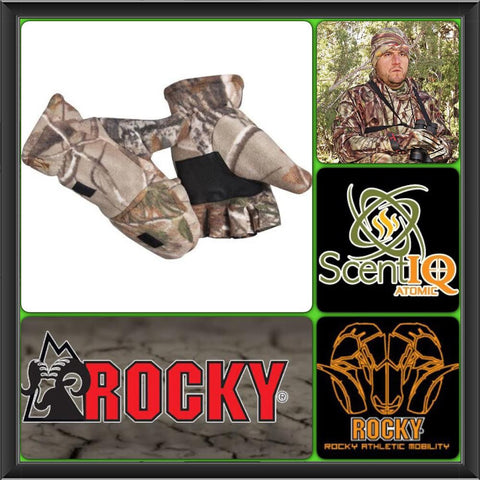 Rocky Silent Hunter Fleece Glomitt