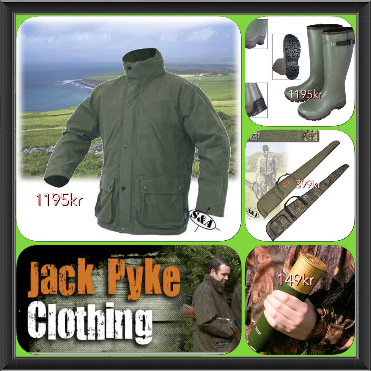 Our Jack Pyke products