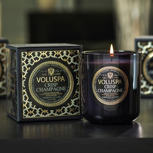 VOLUSPA 2-WICK IN TIN 50 H - CRISP CHAMPAGNE
