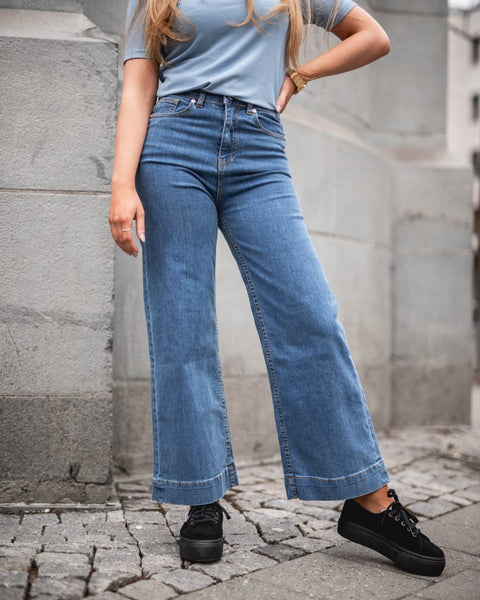 CREATIVE COLLECTIVE WIDE  LEG DENIM
