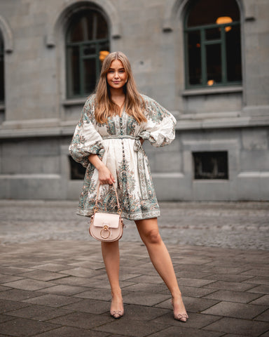 ZIMMERMANN Brighton Paisley Mini Dress